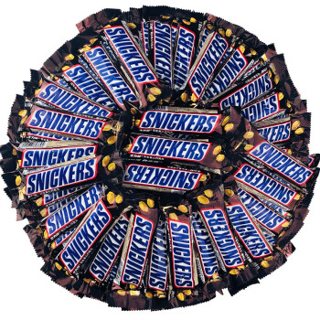 SNICKERS 士力架 花生夹心巧克力1000克散装