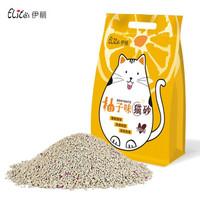 Elite 伊丽 猫砂膨润土10公斤 柚子味 黄色