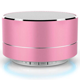TOAIR 致奥 手机电脑通用 蓝牙音箱  粉色