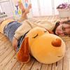 伊美娃娃 毛绒玩具熊趴趴狗 棕色穿衣款 1.2m
