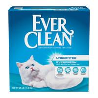 Ever Clean 铂钻 持久抗菌清香无尘猫砂 25磅(蓝白标)