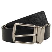 COACH 蔻驰 男士皮质针扣腰带皮带  F64840AQO  黑色   120cm*3.5cm