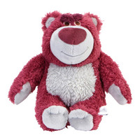 迪士尼(Disney)官方正品 玩具总动员草莓熊中号毛绒玩具娃娃 抱枕公仔玩偶生日礼物自带草莓香味 Q414 *2件