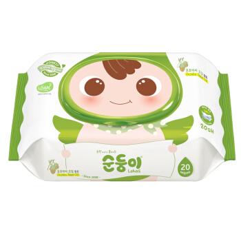 soondoongi 顺顺儿 新生儿系列 婴儿湿巾 20抽*6包