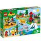 有券的上:LEGO 乐高 DUPLO系列 10907 环球动物 +凑单品 644元包邮(需用券)