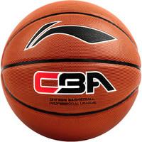 LI-NING 李宁 CBA职业联赛比赛篮球室内外PU材质7号587-2 蓝球  1 (7号)