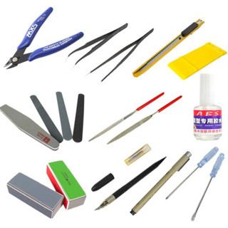 UCGO 海贼船拼装模型制作工具 剪钳 ABS胶水 15件套 (拼插工具、其他)