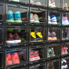 泛思 透明篮球鞋鞋盒 黑色12只装(A型)