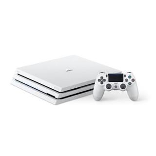 SONY 索尼 CUH-7209B B02 PlayStation 4 ProSlim 电脑娱乐机国行体感电视游戏机支持 VR PS4 (白色)