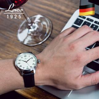 朗坤(Laco) 德国手表男士机械表防水夜光 国防军系列 850022