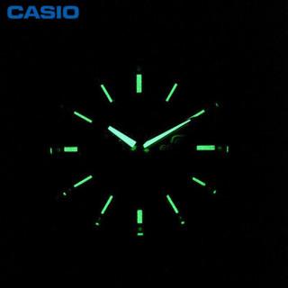 CASIO/卡西欧男表正品太阳光动能休闲防水皮钢带蓝宝石商务手表男非机械电子石英男士手表 EFB-530L-2A