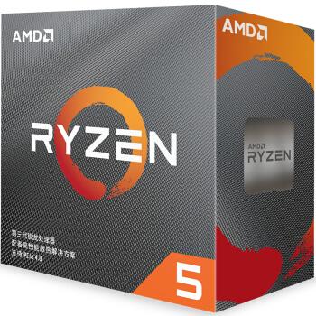 AMD 锐龙 5 3600处理器 (r5) +西部数据(WD)1TB SSD固态硬盘 M.2接口(NVMe协议) Black系列SN750