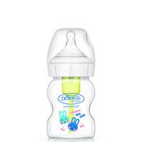 Dr Brown's 布朗博士 宽口径玻璃奶瓶自然实感奶瓶 晶彩 150ml *2件