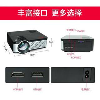 轰天炮 W9 投影仪 全高清1080p 安卓带wifi 无线上网 手机同屏