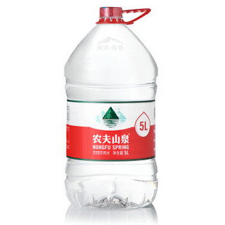 NONGFU SPRING 农夫山泉 饮用天然水 5L*4桶*3箱