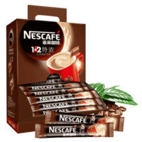 Nestlé 雀巢 咖啡1+2特浓三合一速溶咖啡粉 90条 1170g (盒装)