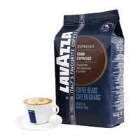 LAVAZZA 拉瓦萨 意大利原装进口咖啡豆 纯黑咖啡 1000g (袋装)
