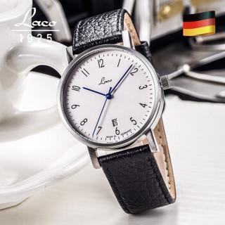 朗坤(LACO)德国进口男士手表防水自动机械表 包豪斯系列 862061