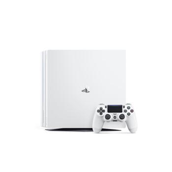 SONY 索尼 PlayStation 4 ProSlim电脑娱乐机国行家用体感电视游戏机支持VR (白色)