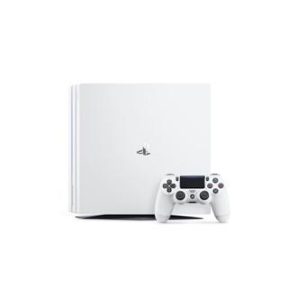索尼(SONY)PS4 Pro  PS4 PRO白色1TB+迷彩手柄(游戏10选1)