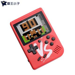 POWKIDDY 霸王小子 Q3 PSP掌上游戏机掌机迷你FC (黑色)