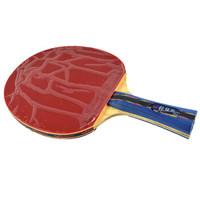 蝴蝶(Butterfly) 张继科乒乓球拍横拍 双面反胶皮碳素底板进攻型单拍 内附拍套