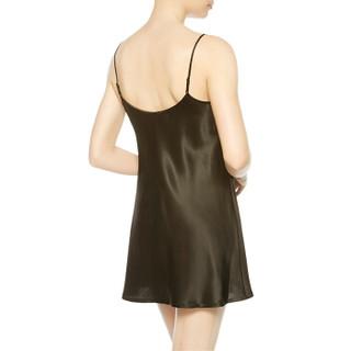 LA PERLA 女士SILK系列高贵真丝绸缎吊带衬裙   CFI0020291