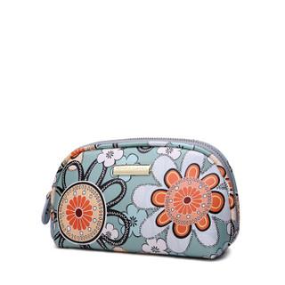 VENUCO 女士涤纶拉链水饺形化妆包手拿包 bc061g01-M