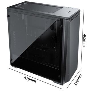 PHANTEKS 追风者 P400 Air 电脑机箱 (黑色、中塔式机箱)