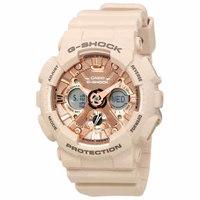 CASIO 卡西欧 G-SHOCK系列 GMA-S120MFF-4ACR 女款运动手表