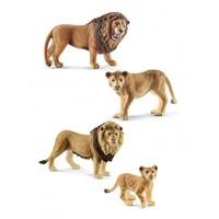 SCHLEICH 思乐 狮子王 四件套玩具模型手办