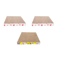 多宠 瓦楞纸猫抓板 直板型 3块装
