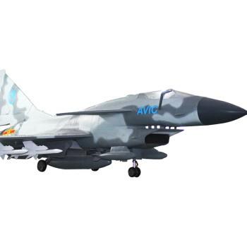 维茵 1:4 歼10战斗机仿真模型 迷彩色