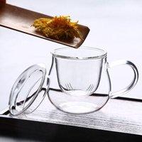 明尚德 玻璃杯 三件套 360ml *5件 +凑单品