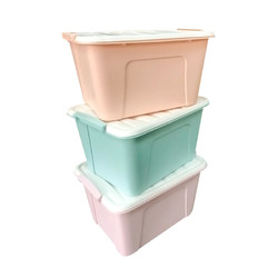 CHAHUA 茶花 208100 悅巧收納箱 58L 3個裝