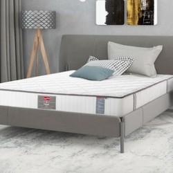 Slumberland斯林百兰袋装弹簧乳胶单双人床垫 本色升级