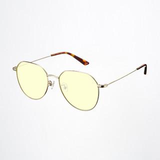小米有品 ANDZ金属几何框防蓝光眼镜