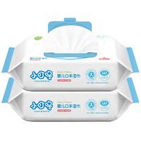 小叮咚 婴儿湿巾纸 2包家庭装