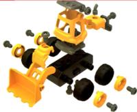 儿童拆装工程车(袋装4辆)