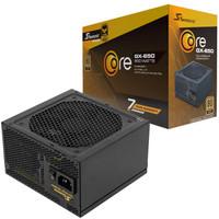 SEASONIC 海韵 Core GX-650 电脑电源 金牌(90%)650W 全模组化