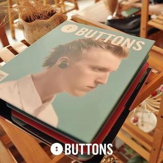 BUTTONS AIR 黑眼豆豆蓝牙真无线音乐运动耳机 (黑色、通用、入耳式)