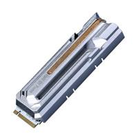 GALAXY 影驰 HOF 名人堂 Pro 2280 台式电脑固态硬盘 M.2 1TB SSD 4.0 NVME 4900/4400MB/s 银色