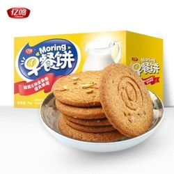 亿鸣 粗粮饼干 1000g