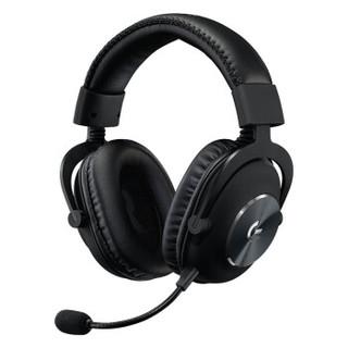 logitech 罗技 G PRO X 7.1环绕声 游戏耳机 黑色
