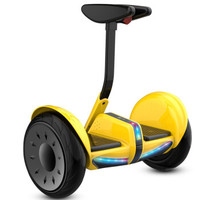 padun 帕顿 两轮迷你扭扭车滑板车电动车平行车平衡车10寸带蓝牙音乐升级款  F4