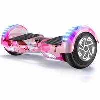 Z-RC 双轮电动平衡车代步体感车蓝牙平衡车儿童扭扭车两轮思维车平衡车 豪华款迷粉手提自平衡带  6.5寸平衡车