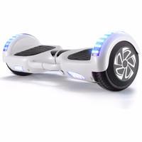Z-RC 双轮电动平衡车代步体感车蓝牙平衡车儿童扭扭车两轮思维车平衡车豪华款白色  6.5寸平衡车