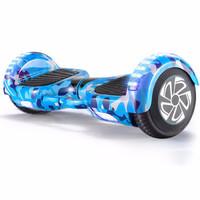 Z-RC 双轮电动平衡车代步体感车蓝牙平衡车儿童扭扭车两轮思维车平衡车豪华款迷蓝   6.5寸平衡车