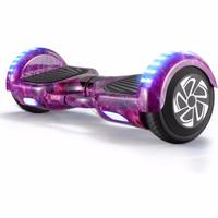 Z-RC 双轮电动平衡车代步体感车蓝牙平衡车儿童扭扭车两轮思维车平衡车豪华款迷紫  6.5寸平衡车