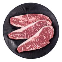 限地区:天谱乐食 澳洲M5和牛西冷 原切牛排套餐 450g/套 3片 *2件